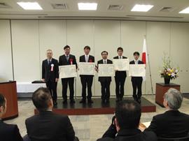 ものづくり日本大賞・表彰式にて