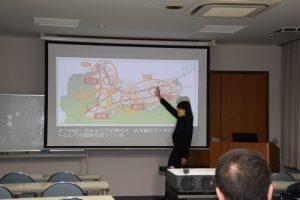 講義写真(文化資源マネジメントと観光町づくり)